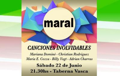 Concert by Maral in Arrecifes will be on Saturday June 22nd