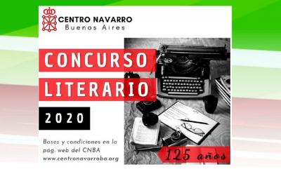 Literary Contest for the 125th anniversary of the Navarrese Center in Buenos Aires