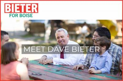 Image of Dave Bieter's reelection campaign