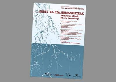 """Poster for the 16th International Congress """"Exile and Humanities: The Routes of Culture, Eighty Years Later"""""""