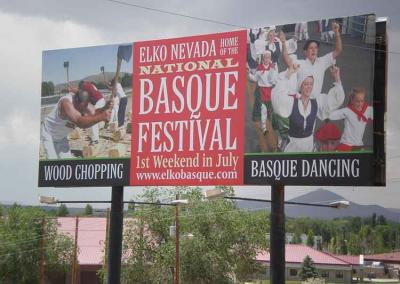 The National Basque Festival is a date marked in red on the calendars of many Basques in Elko and the western US (photo Joseba Etxarri)