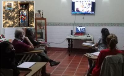 2021 Basque classes at Anaitasuna Basque Club in Maipú, Argentina