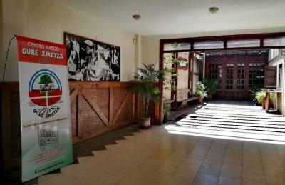 Entrance of the Gure Ametza Basque Club in Rio Cuarto in the province of Cordoba in Argentina