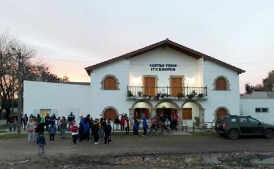 Sede del Centro Vasco Itxaropen de Saladillo, en el interior de la provincia argentina de Buenos Aires