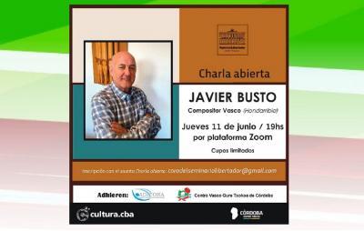 Talk by Javier Busto