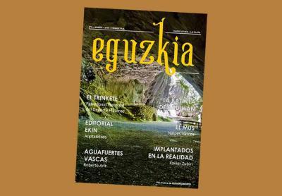Number 5, corresponding to March 2019, of this new period of the magazine Eguzki published by Euzko Etxea of La Plata