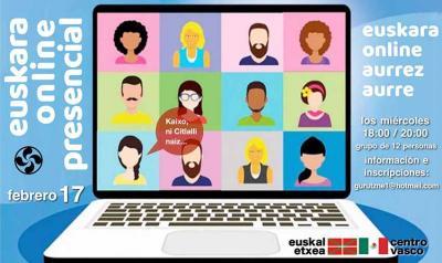Las clases de euskera de Euskal Etxea de México comenzaron el pasado miércoles y llegan online a toda la República