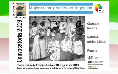 'Emakume etorkinak Argentinan' deialdia