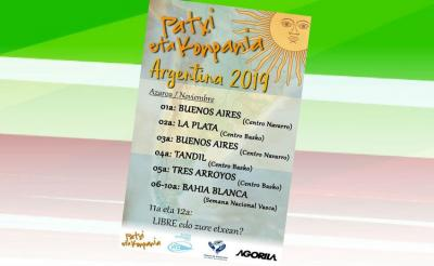 Patxi eta Konpainia's 2019 tour of Argentina
