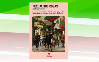 "Cover of the Argentine edition of ""Recoja sus cosas"" by Ander Zurimendi from Vitoria-Gasteiz"