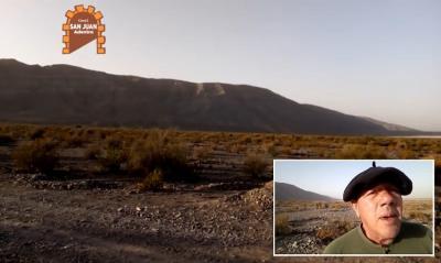 Eduardo Ochoa talks in his video abut the first Basque to set foot in San Juan