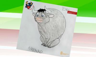 Dibujos de txikis del Centro Navarro de Mendoza para San Fermín 2020