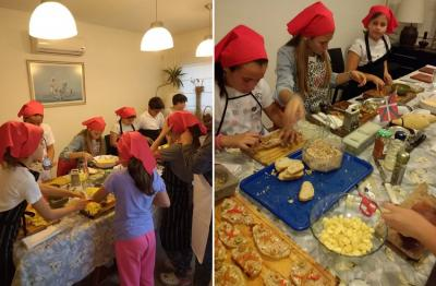 Cooking workshop for Txikis