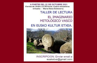 El 22 de octubre arranca un nuevo taller de Mitología de Eusketxe