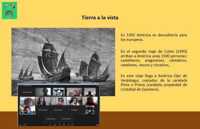 Trujilloko Euskal Etxeak Berastegi (Verastegui) abizenekoekin antolatutako online saioa, uztail honetan bertan