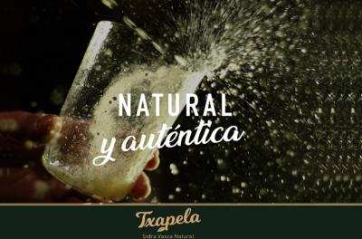 Made by Basques in Argentina with a Basque recipe and Argentine apples. Txapela Cider's first anniversary