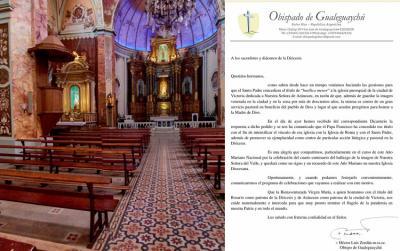 Our Lady of Arantzazu in Victoria, designated a Minor Basilica