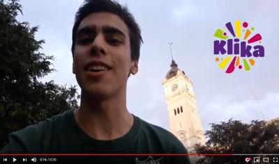 Enzo Damelio, student from Euzko Etxea in La Plata