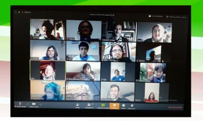 Euskera meeting on Zoom