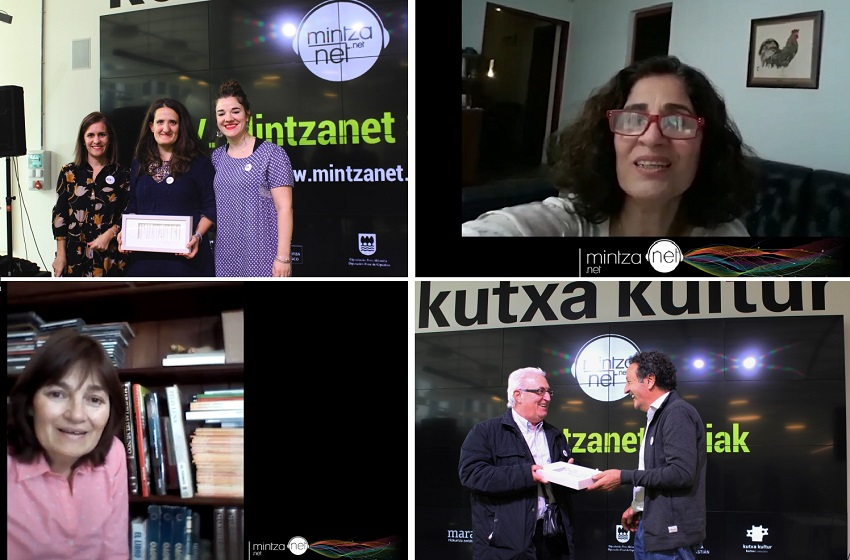 The bidelagun awarded and their bidelaris (photos Mintzanet)