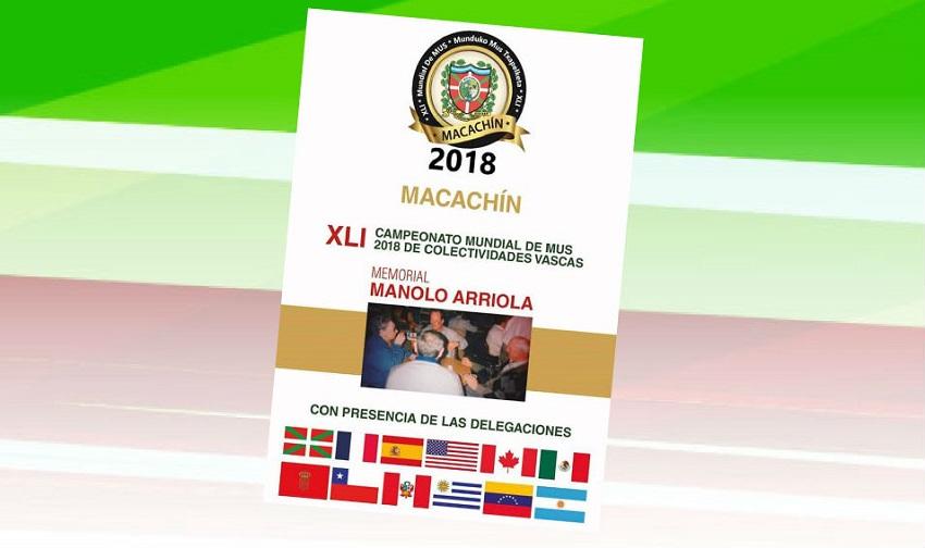 41º edición del Mundial de Mus en Macachín