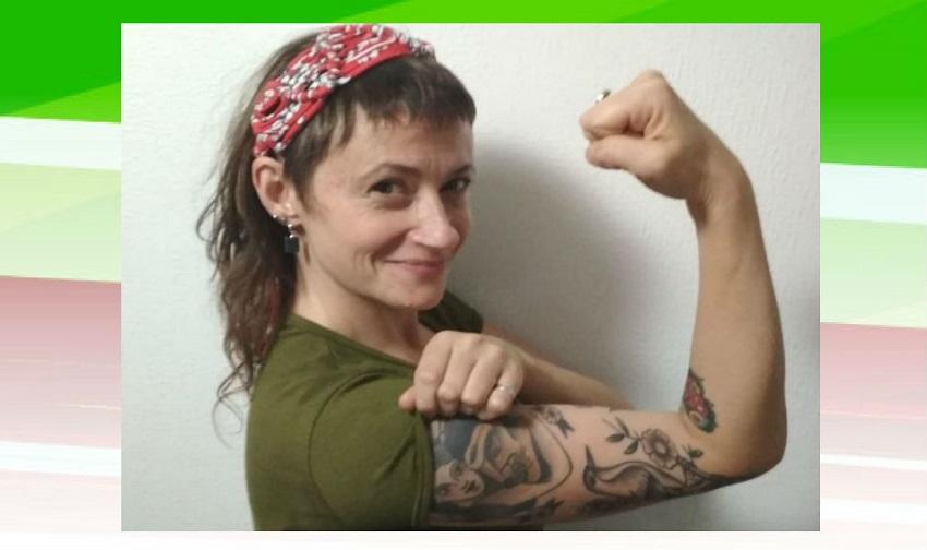 Noel Abella Aiscar, montevideana, música, feminista y alumna de euskera