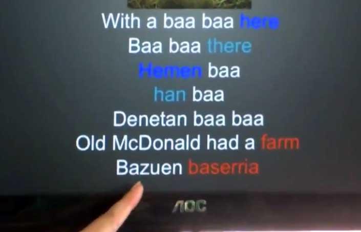 Old McDonald bazuen baserria