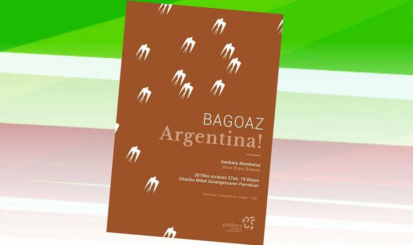 Gira del coro Oñatiko Ganbara Abesbatza en Argentina