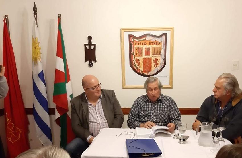 'Aporte vasco al Uruguay' liburuaren aurkezpena Euskaro Euskal Etxean