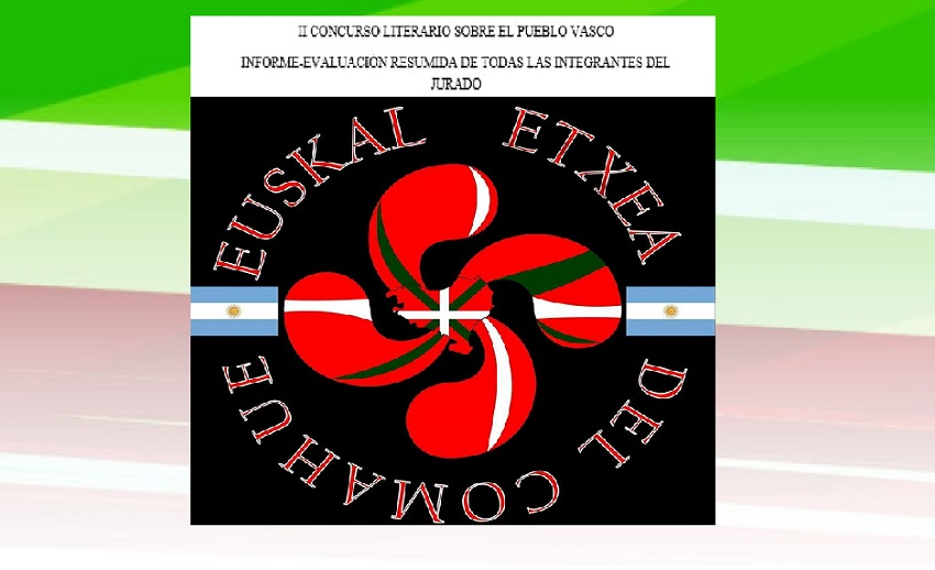 Segunda edición del Concurso Literario de la Euskal Etxea del Comahue