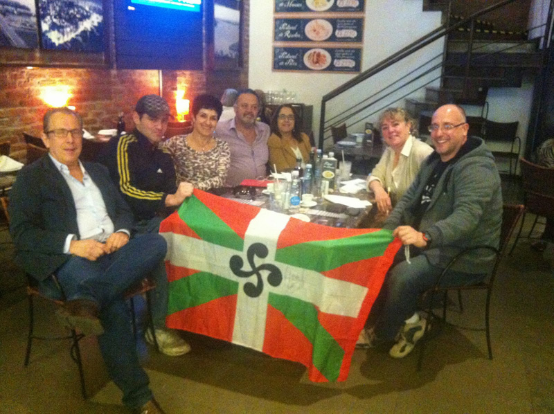 Members of the Board of Directors of Rio Grande do Sul Basque Club (photo RGS EE)