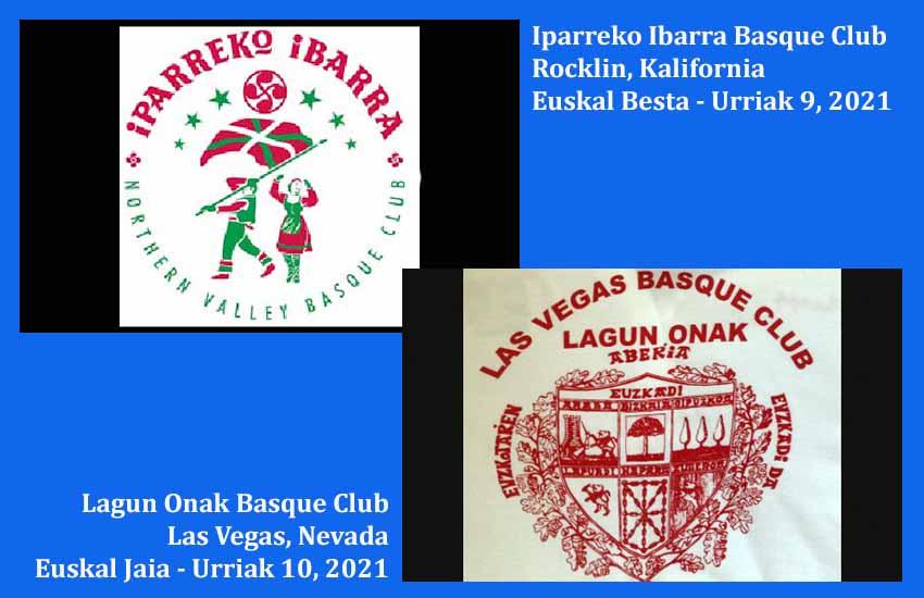 Rocklin & Las Vegas euskal piknikak