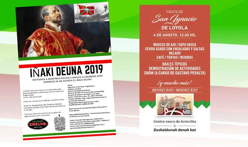 2019ko San Inazio jaiak diasporan