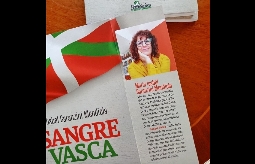 Chabel Garanzini Mendiola euskal-argentinarrak bere familiaren istorioa kontatzen du 'Sangre Vasca'n