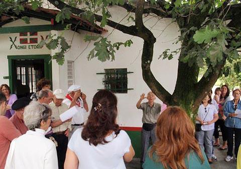 Gernika Kuttun headquarters of the Sao Paulo Eusko Alkartasuna Basque Club