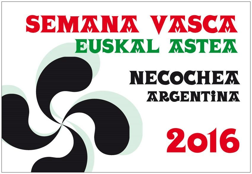 Semana Nacional Vasca Necochea 2016