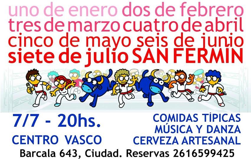 Sanfermines 2018 en Mendoza