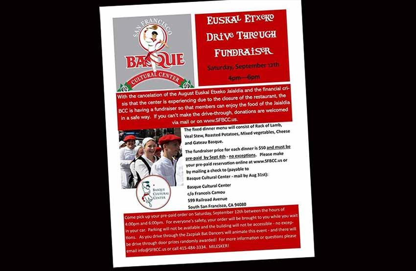 SFO 2020 Drive Through Fundraiser