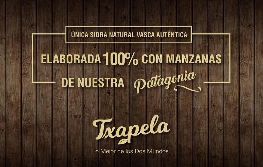 Nueva sidra natural vasco-argentina 'Txapela'