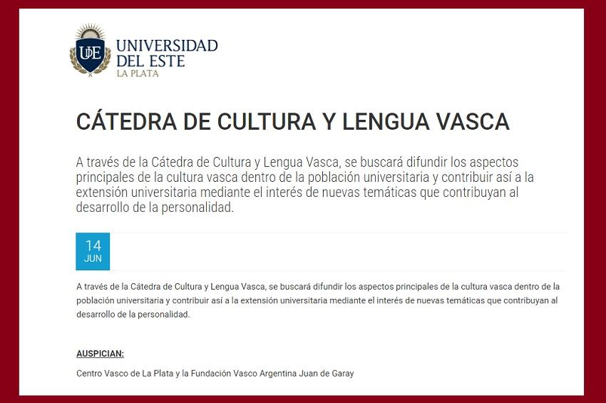 Euskara eta euskal kulturari buruzko katedra