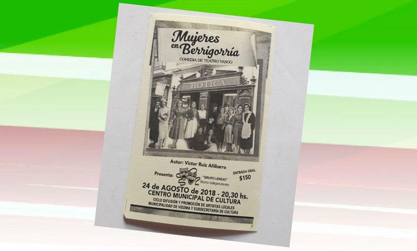 Teatro: 'Mujeres en Berrigorria'