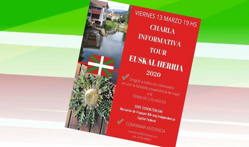 2020ko Euskal Herrirako bidaia