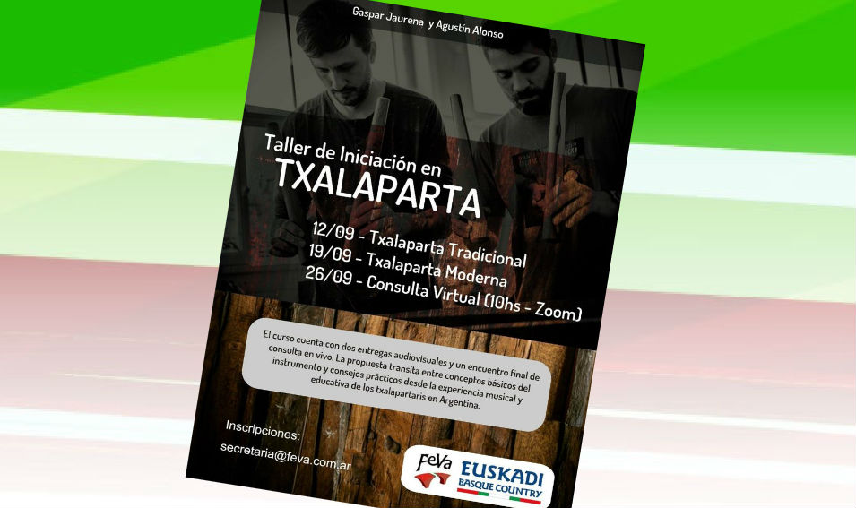 Txalaparta Workshop organized by FEVA