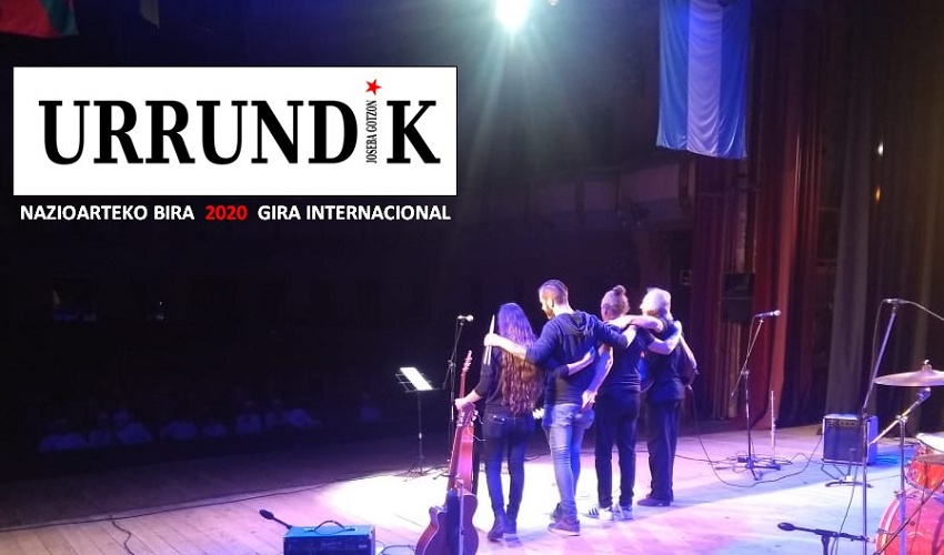 'Urrundik' canción y gira de Joseba Gotzon