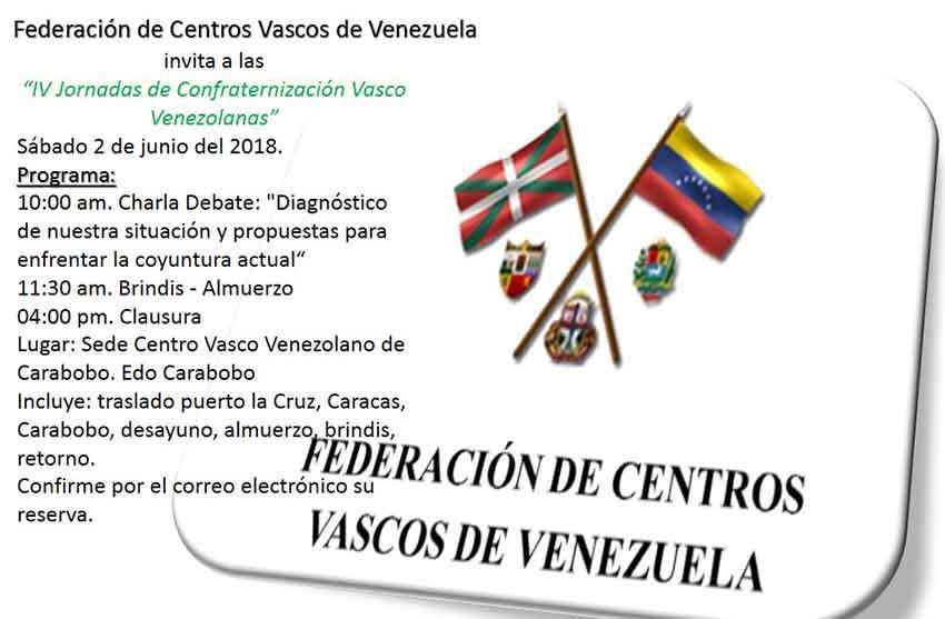Venezuelan Basque Clubs Reunion