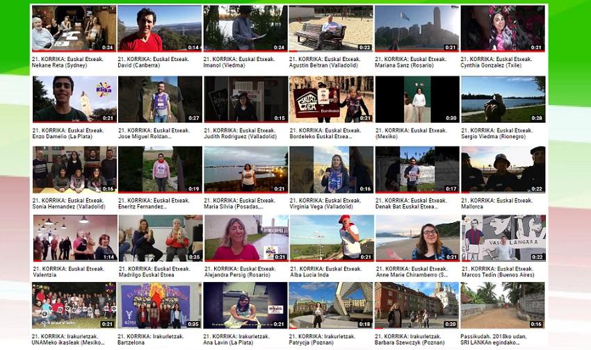 Concurso de videos para la 21. Korrika