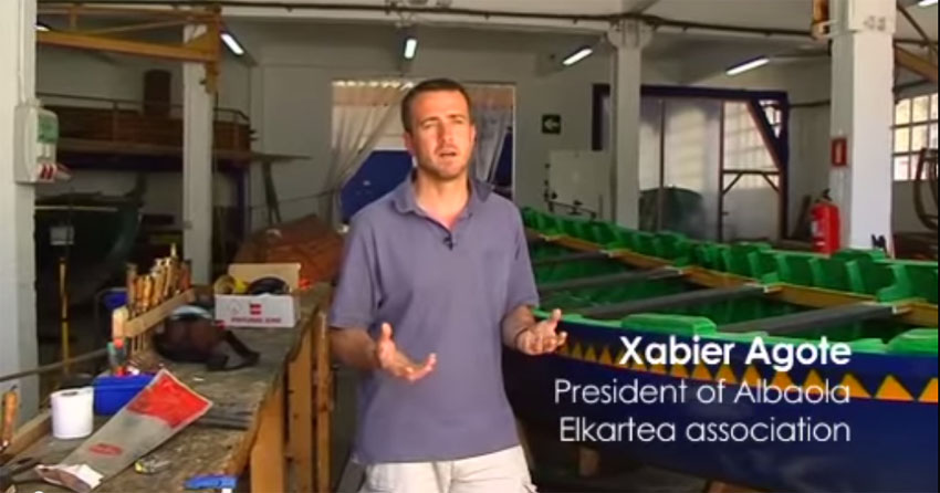 Xabier Agote president of the Albaola Association