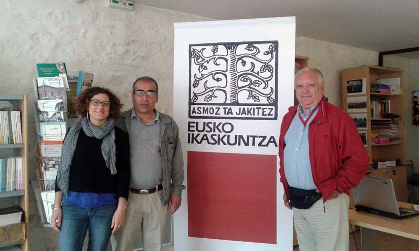 Visiting Eusko Ikaskuntza-Baiona