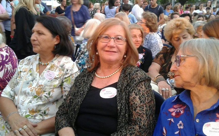Alicia Itcea, una de las Mujeres Destacadas 2018 de Gral. Rodríguez