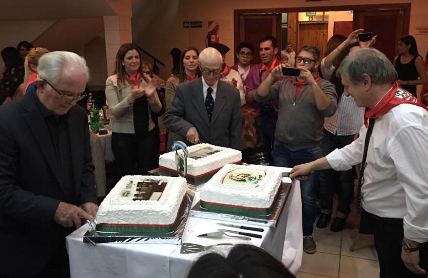 95th Anniversary festivities at the Euskal Echea Association in Comodoro Rivadavia